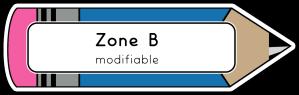 B modifiable